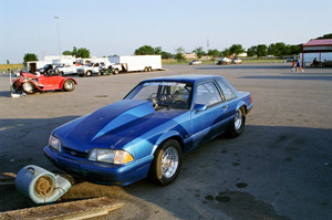 Jeff Adam's 1988 Mustang Coupe
